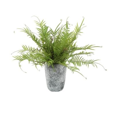Potted Artificial Fern Plant, 50cm