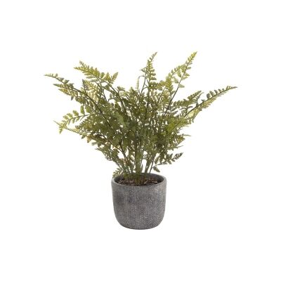 Potted Artificial Fern, 48cm