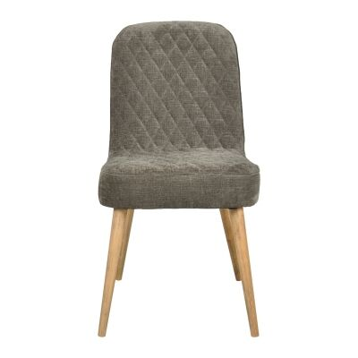 Nathalia Quilted Fabric Dining Chair