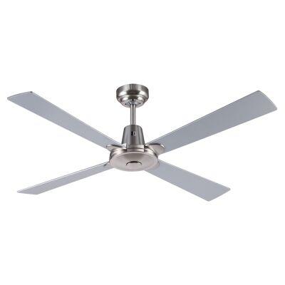 """Kimberley II Ceiling Fan, 120cm/48"""", Brushed Chrome"""