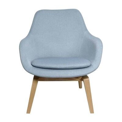 Vana Fabric Occasional Armchair, Duck Egg