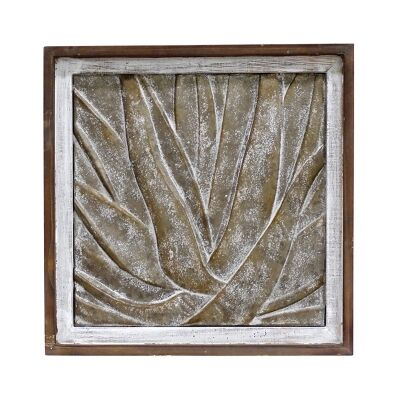 Barnsdale Metal Wall Art, Aloe, 49cm