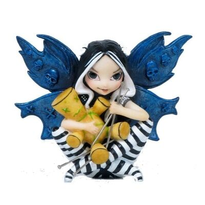 Jasmine Becket-Griffith's Strangeling Fairies Figurine, Vodoo Fairy