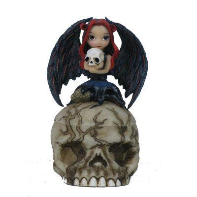 Jasmine Becket-Griffith's Strangeling Fairies Figurine, Skull Stealer