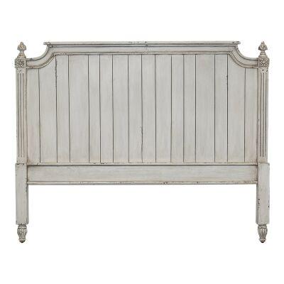 Paisley Mindi Wood Bed Headboard, King