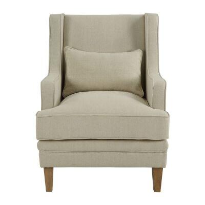 Bondi Fabric Armchair, Beige