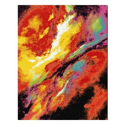 Pheonix Nebula Modern Rug, 80x150cm