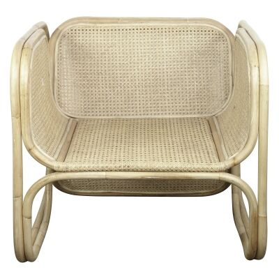 Mon Bamboo & Cane Occasional Chair, Natural