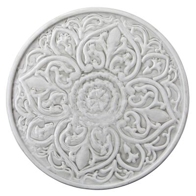 Toulouse Metal Round Wall Decor, 55cm