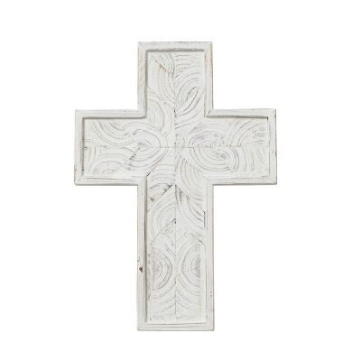 Northford Wooden Cross Wall Decor, Small
