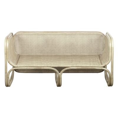 Mon Bamboo & Rattan Sofa, 2 Seater, Natural