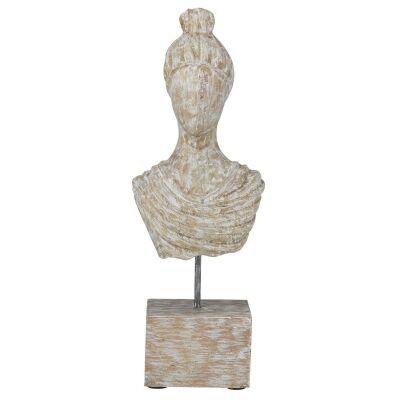 Astoria Hand Carved Mango Wood Sculpture