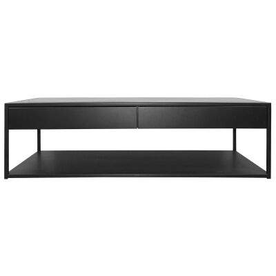 Riva Steel Coffee Table, 140cm