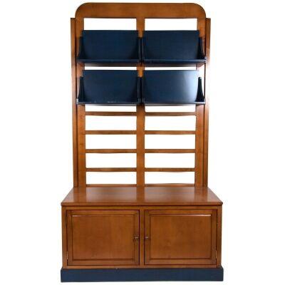 Salontafel Solid Timber Bookcase / Display Shelf