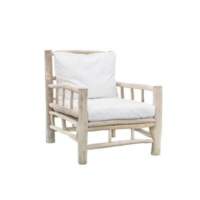Bermuda Timber Armchair with Cushion