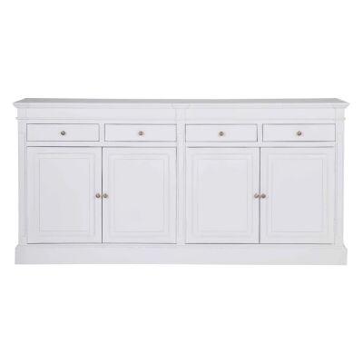 Cassis Wooden 4 Door 4 Drawer Sideboard, 198cm
