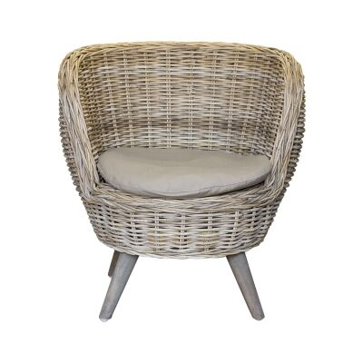 Rhett Rattan Bucket Chair