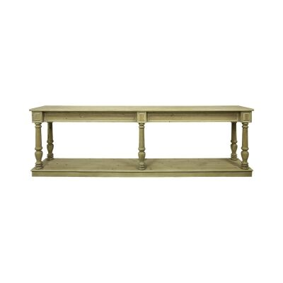 Luxe Fir Timber Console Table, 240cm