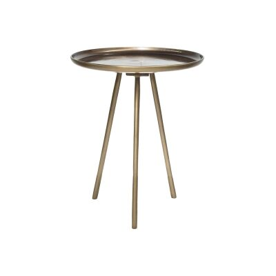 Jagger Metal Tripod Round Side Table