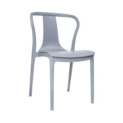 Conrad Indoor / Outdoor Dining Chair, Grey