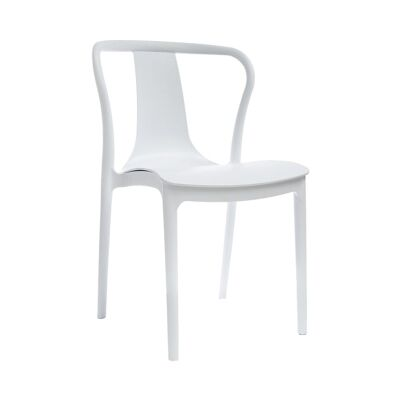 Conrad Indoor / Outdoor Dining Chair, White
