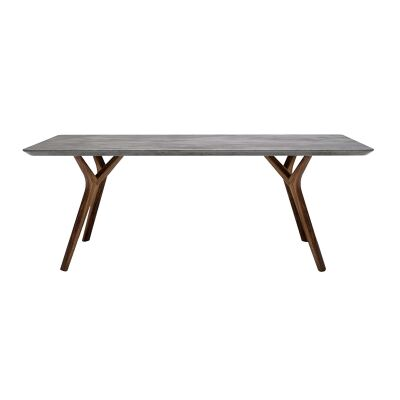 Twigs Concrete & Timber Coffee Table, 120cm