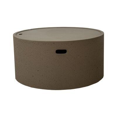 Da Nang Magnesia Round Coffee Table, 80cm