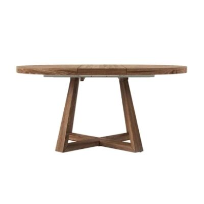 Denver Oak Round Dining Table, 140cm