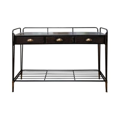 Marvin Metal Console Table, 122cm