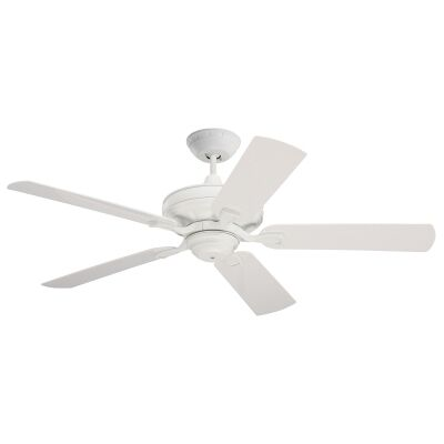 "Emerson Verandah Indoor / Outdoor Ceiling Fan, 132cm/52"", White"
