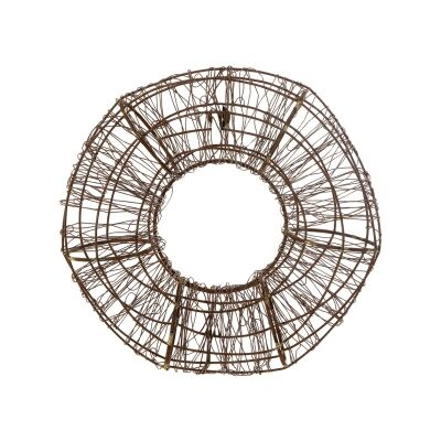 Wilkins Rustic Wire Wall Decor, Small