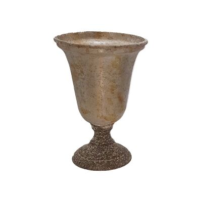 Trophy Metal Vase