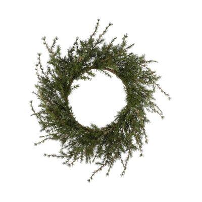 Artificial Pine Wreath, 96cm