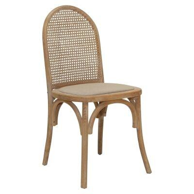 Alwyn Elm Timber Dining Chair