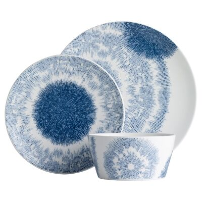 Noritake Aozora 12 Piece Porcelain Dinner Set