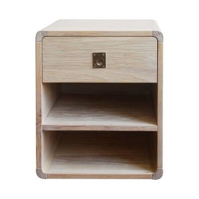 Jarod Mountain Ash Timber Bedside Table