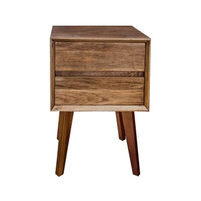 Kemglen Mountain Ash Timber Bedside Table