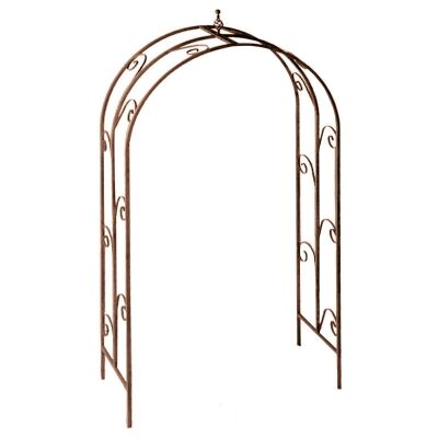 Greenfield Iron Garden Arch, Rust