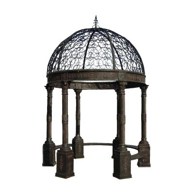Victorian Iron Garden Gazebo, Small