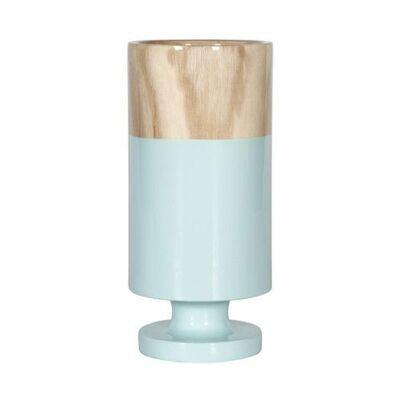 Tiffany Wooden Goblet Vase, Large