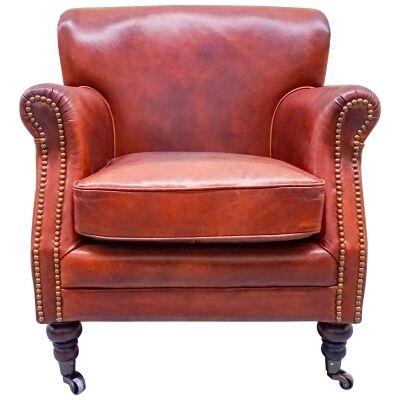 London Leather Armchair