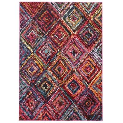 Gemini Dawson Diamond Maze Turkish Made Modern Rug, 230x160cm