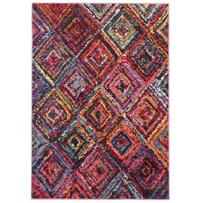 Gemini Dawson Diamond Maze Turkish Made Modern Rug, 290x200cm