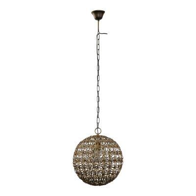 Carinya Metal Floral Pendant Ball Light