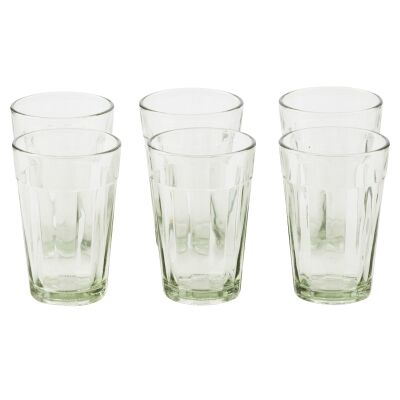 Chaville Glass Tumblers, Set of 6