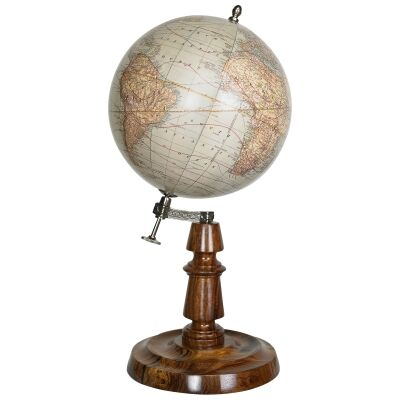 York 19th Century Tabletop Globe