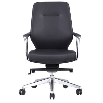 Grand PU Leather Executive Office Chair, Low Back