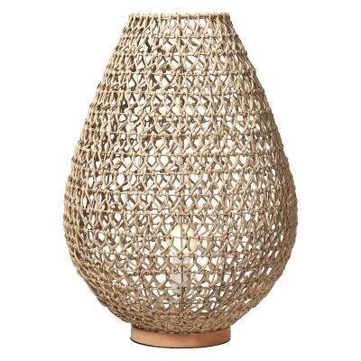 Capri Woven Paper Table Lamp, Large