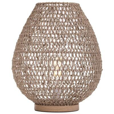 Lonsdale Paper & Metal Table Lamp, Natural
