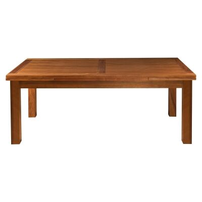 Harlington Blackwood Timber End Extension Dining Table, 200-300cm